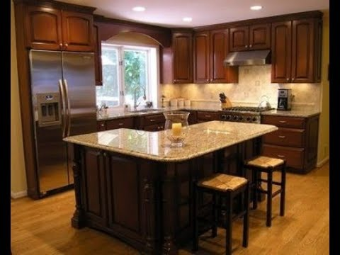 L Shaped Kitchen Islands Youtube