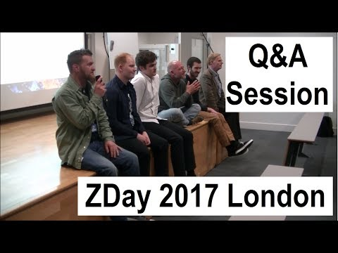 Q&A Session | ZDay 2017 London
