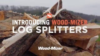 Log Splitter: The New Wood-Mizer FS500 Firewood Splitter