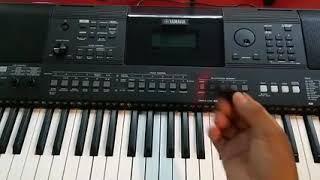 Como meter ritmo en teclado Yamaha psr e463/ew410
