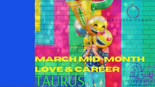 Taurus Mid-Month Love+Career Tarot Spreads (They're holding  back) March 15-31 2021