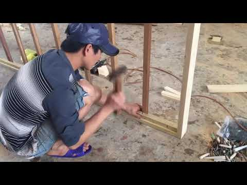 DIY Platform Wooden Bed Extremely Fast And Simple | Amazing Smart Woodworking Skills Of Carpenters
