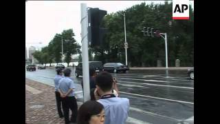 Video Security, motorcade believed to be for Kim Jong Il download MP3, 3GP, MP4, WEBM, AVI, FLV Oktober 2018
