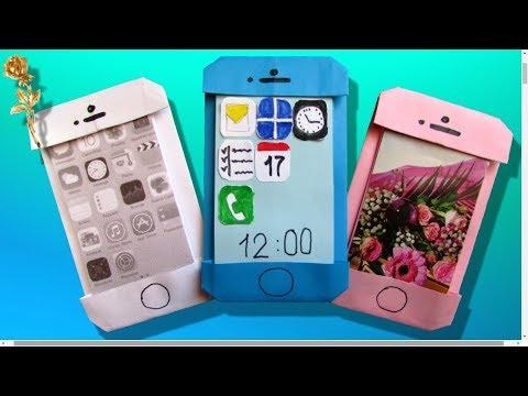 Origami facile : 📱 iPhone, smartphone, téléphone portable
