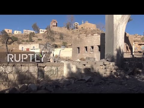Yemen: Four killed in alleged Saudi-led airstrike on Sanaa TV station - reports