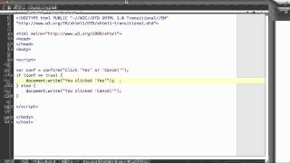 JavaScript - 22. Confirm box and prompt box