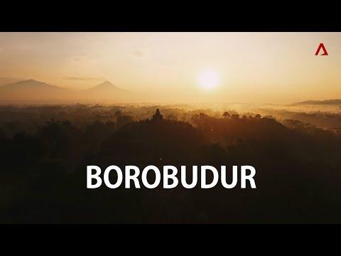 Borobudur | Aerial Indonesia | CNA Insider
