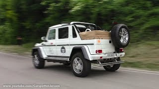 Mercedes-Maybach G 650 Landaulet driving the Mille Miglia 2017!