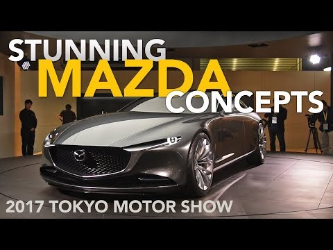 Mazda Vision Coupe and Kai Concepts, Plus Skyactiv-X - 2017 Tokyo Motor Show