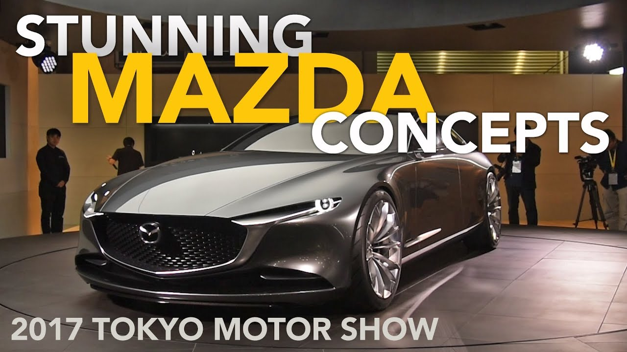 7d0cc585ce Mazda Vision Coupe and Kai Concepts