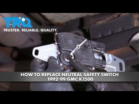 How To Replace Neutral Safety Switch 1992-99 GMC K1500