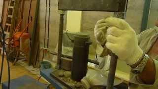 Ladrillos Ecológicos El Bajo: Ensayo de Probetas de Suelo Cemento.