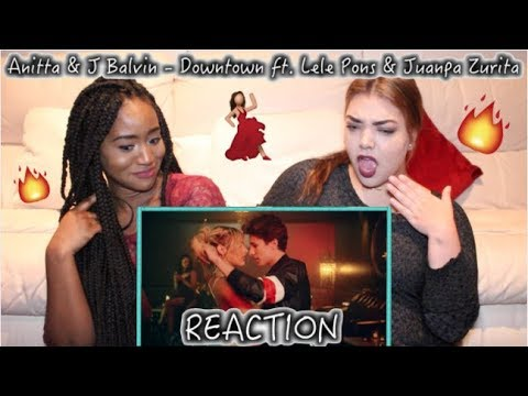 Anitta & J Balvin - Downtown (Official Lyric Video) ftLele Pons & Juanpa Zurita | REACTION