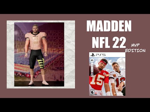 MADDEN NFL 22EARLY ACCESS(MVP Edition)gameplay