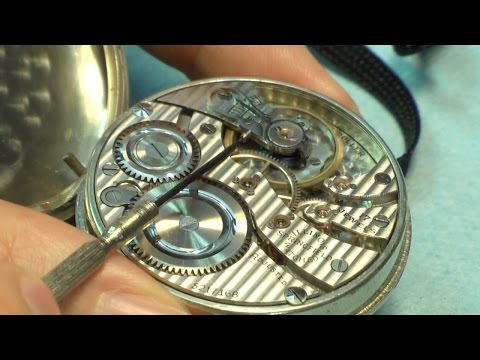 Ask Fran: Setting and Regulating Pocket Watches