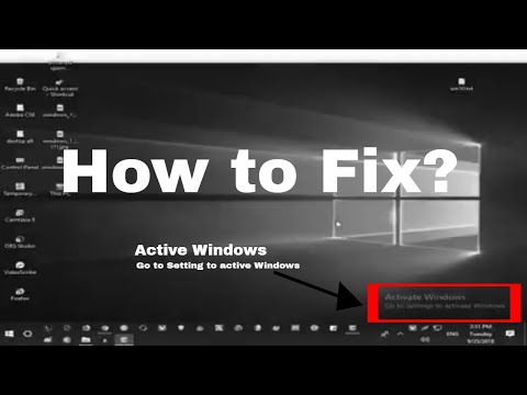 How To Fix Windows 10 Activation Problems 2018, Without Any Software Or Product Key-Windows 10 Pro
