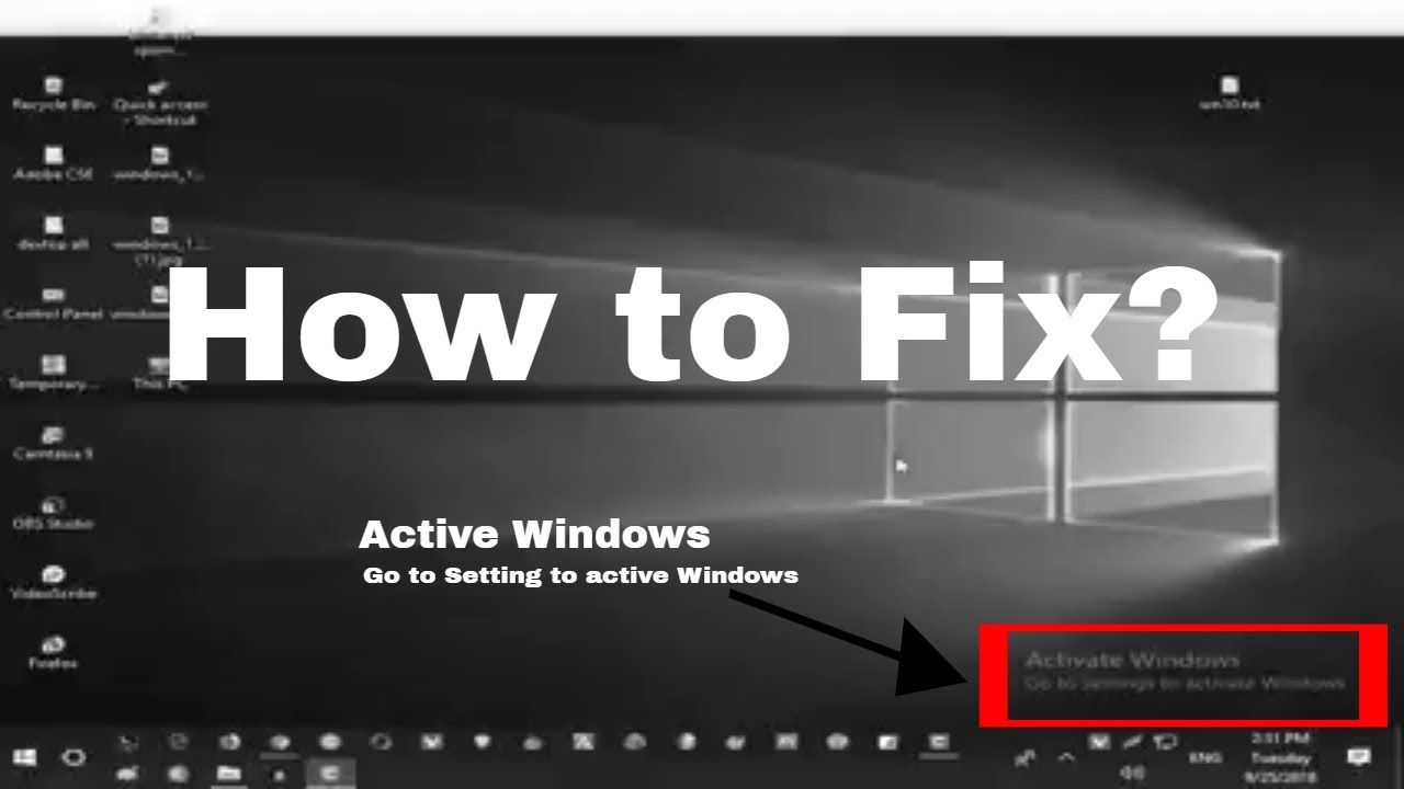 How to fix windows 10 activation problems 2018, Without ...