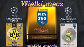 Mini Puszka - Mecz Champions League - otwieranie karty FIFA 365 Panini - New limited edition