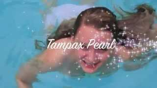 Sterling is so happy she used Tampax Pearl! This fake commercial sh...
