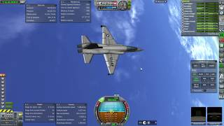 Kerbal Space Program RO Sandbox - T-38 Space Shuttle (1961 version)