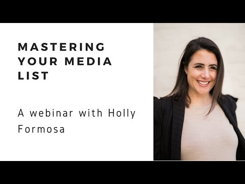 Mastering your Media List