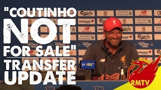 Coutinho NOT For Sale | #LFC Daily News LIVE
