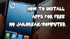 How To Get APPS FREE iOS 9/10 (NO JAILBREAK/COMPUTER)- 25PP Mobile 2016