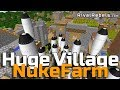 Huge Nuke Village Wack Funny Roleplay Farming Build