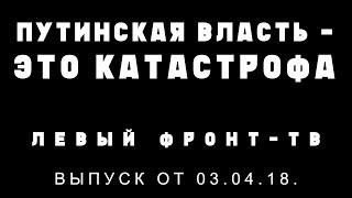 Разговор по сути: Путинская власть - это катастрофа