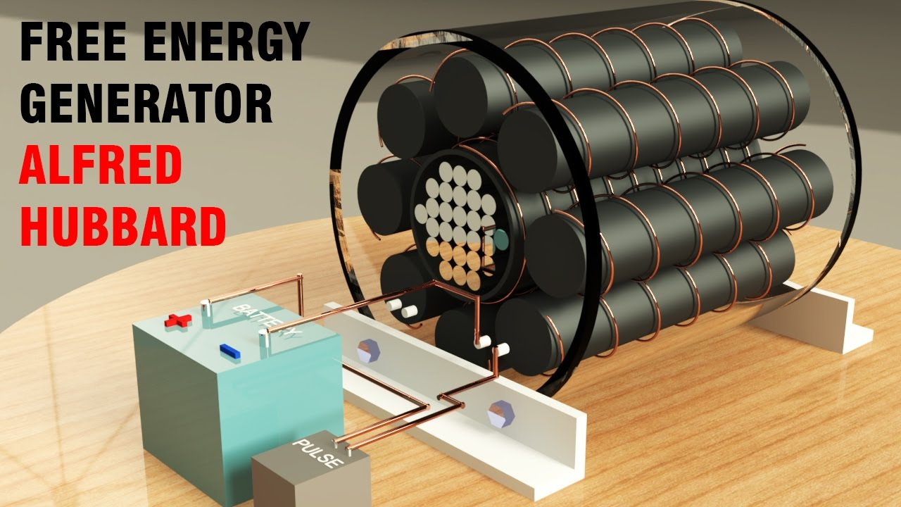 free energy generator hubbard self powerd generator static generator youtube