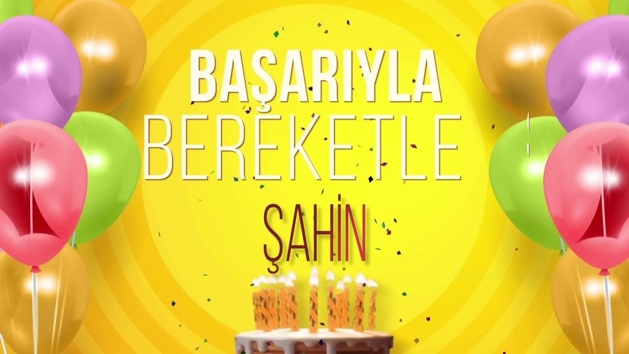 İyi ki doğdun ŞAHİN- İsme Özel Doğum Günü Şarkısı (FULL VERSİYON)