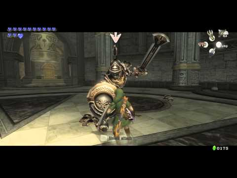Zelda Twilight Princess HD: Darknut Battle.
