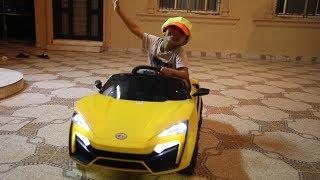 الياس شرا سياره لامبرجيني !