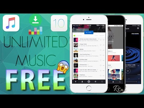 How to Download Unlimited FREE Music Directly on your iPhone , iPad , iPod NO JAILBREAK iOS 10 & 9 !