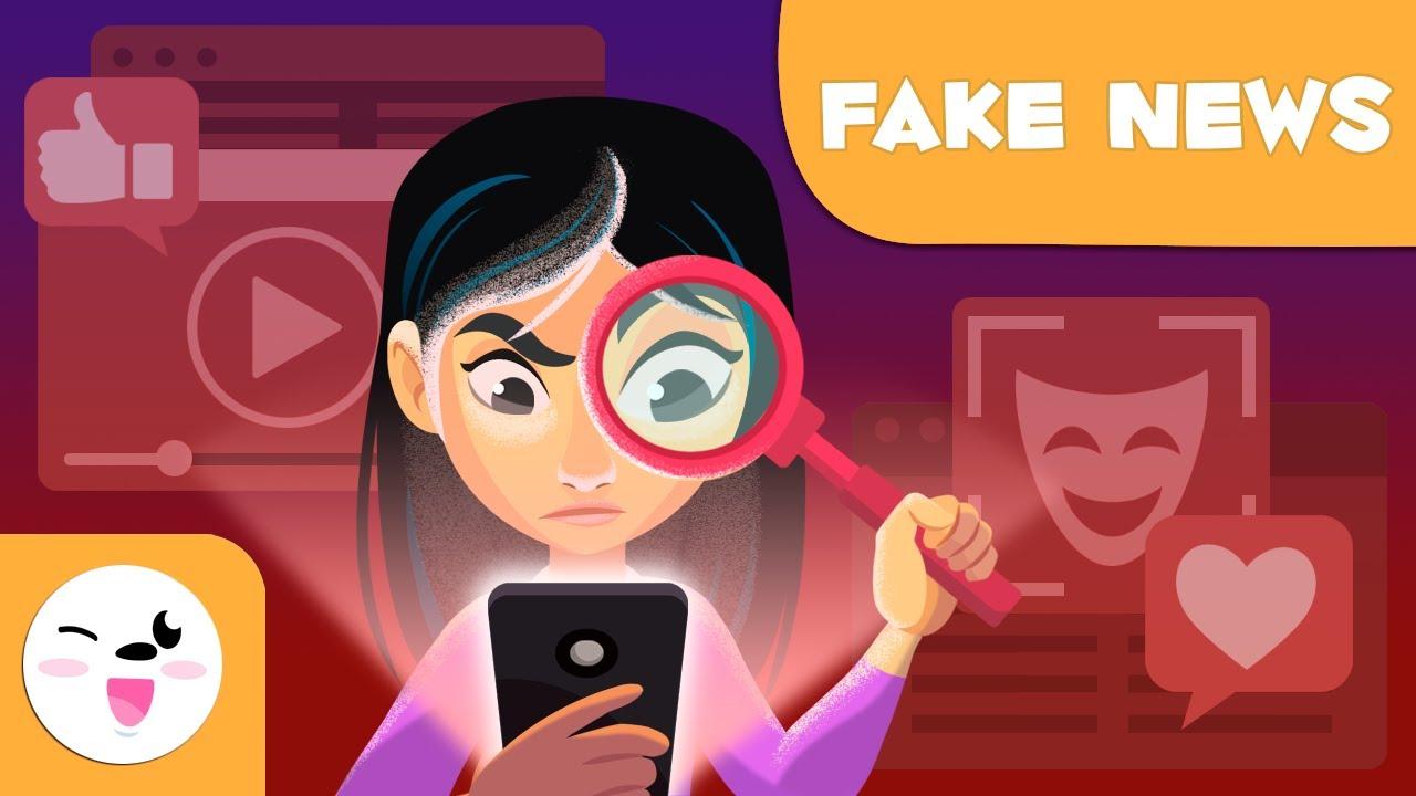 Qué son las fake news? - Consejos para reconocerlas - Fake news para niños  - YouTube