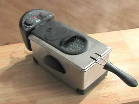 Maxi-Matic Stainless Steel Immersion Deep Fryer