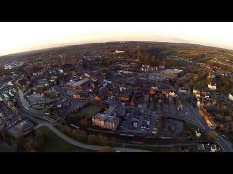 Sunset Flight - Stone, Staffordshire