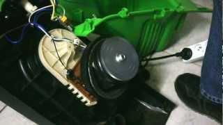 mon moteur électrique tourne sur trois cylindres