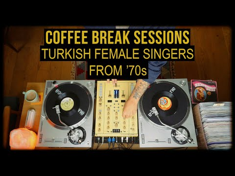 CBS: Turkish Female Singers From 70's Vinyl Set