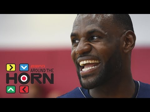 LeBron James posts video of pickup game at UCLA   Around the Horn   ESPN