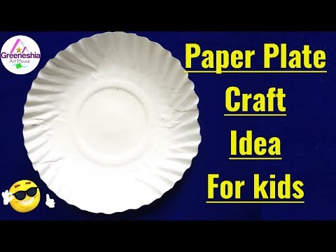 Best out of waste paper plates crafts | Easy paper plate crafts for kids | Crafts for kids