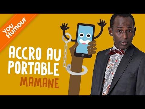 MAMANE - Accro au téléphone portable