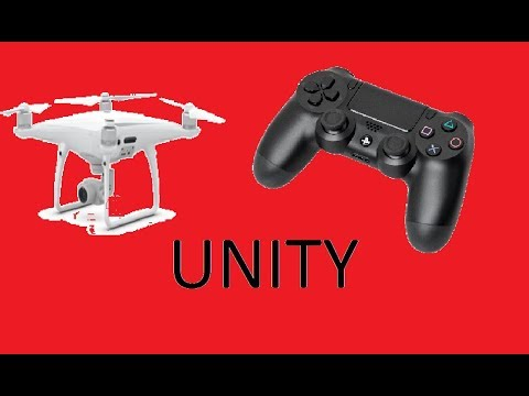 Drone Controlled by PS4 Controller - Unity