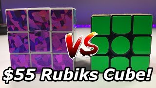 $1 Rubiks Cube Vs. $55 Rubiks Cube