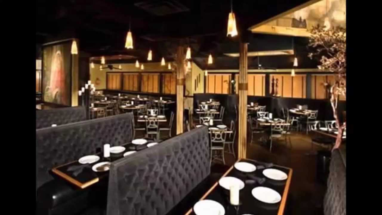 Simple casual pizza chinese asian restaurant design