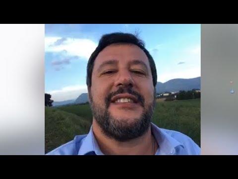 """Salvini: """"Più Di 100 Immigrati Sbarcati In Sicilia In Poche Ore"""" (13.10.19)"""