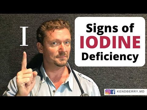 9 Signs Of Low Iodine (Weight Gain, Fatigue, ...)
