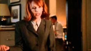 Margaret jabbers like crazy - The West Wing
