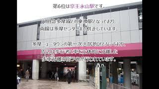 【京王相模原線】2018年乗降客数ランキング!(#089)