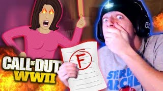 Mom ABUSES Me For Not STUDYING on WW2! (Hilarious Reactions!)